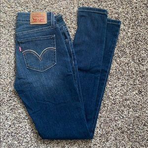 Levi's 535 SUPER SKINNY Jeans size 27